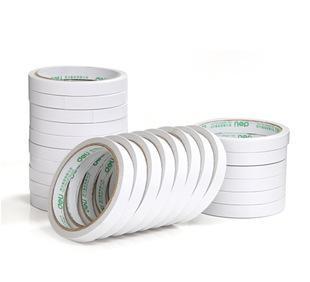 办公用品得力 30401双面胶 两面胶 棉纸双面胶 胶带 1.2cm宽
