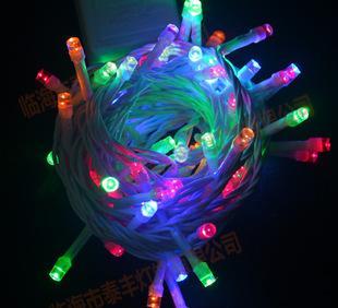 工場直販白線LED燈LED裝飾LEDランタンクリスマスライトLED10メートルひゃく泡燈串