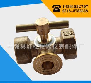 медь медь трехсторонних трехсторонних таблица клапан вентиль манометр клапан / медный клапан X14W-6T обеспечение качества