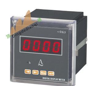 上海顶德电器 数显单相电流 电压表 电工仪器仪表 原装正品批发;