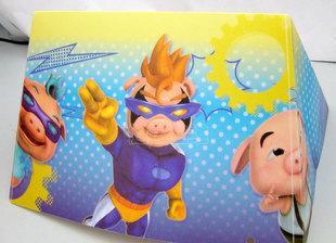 الدب الكرتون ثلاثية الابعاد تحويل العرف تأثير ستيريو الطباعة حسب الطلب تخصيص الإعلانات التجارية مصباح الظل