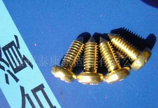 提供接线端子螺钉(尖头)加工;
