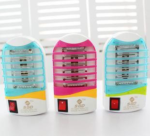 「2422 ]創意LED攜帯ミニ光觸媒殺蟲燈燈燈小夜蟲よけ防蚊電燈コンセント燈