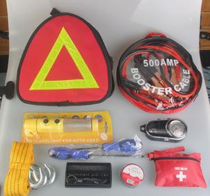 车载工具包 工具套装组合 车用应急工具包;