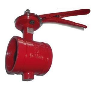 Специальный D81X ручки профессиональных производителей продажи контроля пожарной хомут траншеи бабочка бабочка D81X обеспечение качества