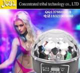 LED數顯水晶魔球燈 酒吧KTV舞台追光燈飾 DMX512閃光水晶魔球燈具