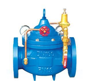 Производители спотовых поставок 200X-16 редукционный клапан фланец чугунный клапан водосбережения и контроля мяч чернила