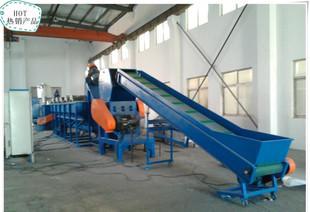 300kg / h薄膜洗浄線破砕洗浄乾燥廃プラスチックのリサイクル機械