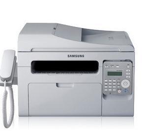 三星SCX-3401FH 可连续复印扫描 打印传真 黑白激光多功能一体机;