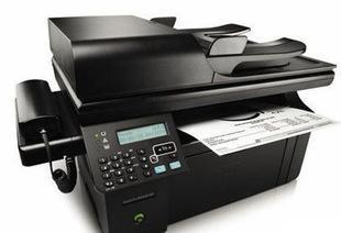 惠普HP M1216nfh复印打印扫描传真四合一多功能一体机;