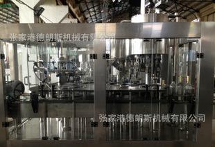 铝制盖灌装封口机 黄酒灌装机 饮料机械 玻璃瓶灌装机 饮料机械;