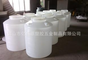 供应塑料水箱 塑胶储水容器 PE塑料水塔 带盖滚塑圆桶批发;