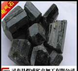 煜成供应高纯黑色电气石粉 汗蒸房专用电气石颗粒 电气石球;