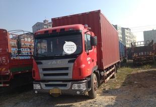 低价出售江淮单桥厢式货车;