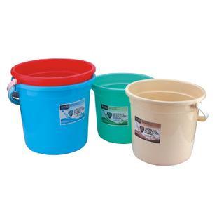【康意塑胶】家居桶 381-B雅洁水桶 学生桶 清洁家用塑料水桶;