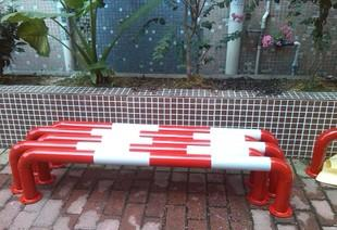 热销全镀锌钢制U型防撞护栏 耐腐反光防锈 交通安全设备;