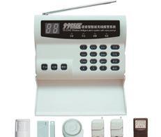 独立键盘操作防盗器 无线自动拨号防盗报警器HAJ-2008C 语音感应;