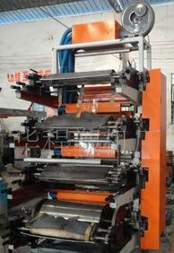4色、不織布オフセット印刷機、プラスチックソフト包装印刷機、紙包装印刷機(凹凸)