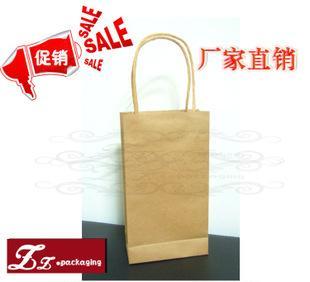 スポットエコ小さい日の牛皮の紙袋の手のバッグの服の包装の包装はショッピング袋を包装して印刷することができて印刷することができて印刷して