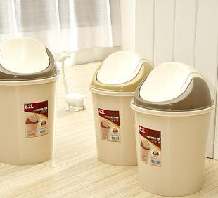 汇骏分类垃圾桶欧式创意时尚家用厨房卫生间免脚踏收纳桶;