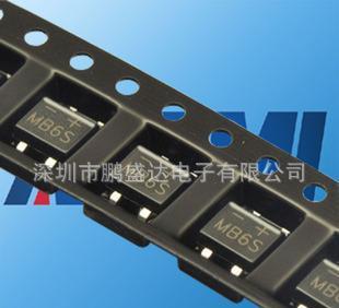 供应MB6S 整流桥 整流器件 600V/0.5A SOP-4 贴片;