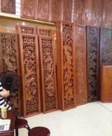 实木3d仿木浮雕装饰线板 欧式红木木雕仿古背景电视背景壁画;