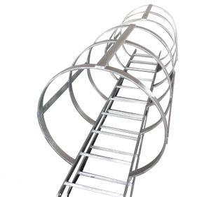 船舶晒装件船用带护笼镀锌钢质直梯,欢迎广大客户订购;