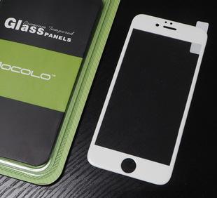 慕凯龙旗舰店纳米3D曲面苹果iphone6全屏覆盖钢化玻璃膜碳纤维;