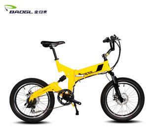 火爆热销 20寸折叠自行车 锂电池铝合金男女式变速折叠车;