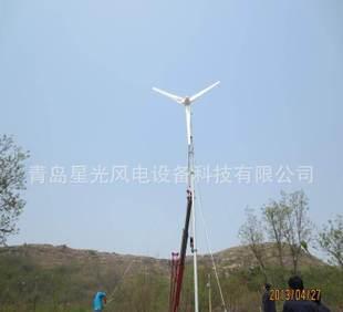 3kw风能设备微风发电的星光风力发电机;