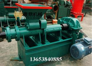 热销煤泥煤棒挤出机 节煤设备煤棒机 制棒机 大型煤棒成型机;