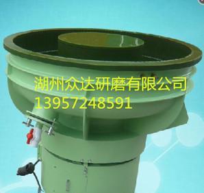 420LB型优质PU牛筋绿胶内衬振动抛光机振动研磨光饰机表面处设备;