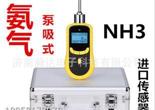 便携式手持泵吸式氨气检测仪报警器侧漏仪济南瀚达HD-P900-NH3;
