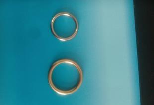 热销供应高品质服饰箱包五金 铁环圆圈 各种O形铁圈来样订做;