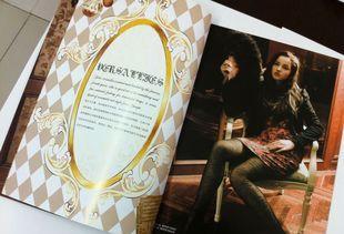 服装行业合作单位 全新海德堡提宣传册印刷 彩色印刷 杂志印刷