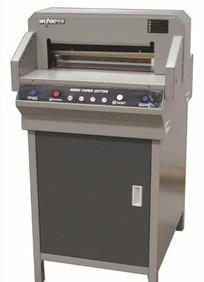 五豪4660H 全自动数控电动切纸机 厚层独立压纸两个电机6cm厚度线