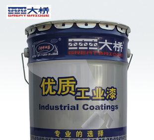 杭州大桥牌厚浆型耐磨环氧煤沥青漆 粘结力强 厂家特价一桶起批;
