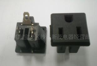 供应美规机柜插座,美式插座,二圆一扁插座,美标座;