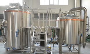 啤酒酿造机械设备 不锈钢卫生级糖化罐发酵罐冰水罐售酒系统;