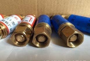 干式回火防止器 氧气、乙炔阻火器 管道、减压器防回火装置;
