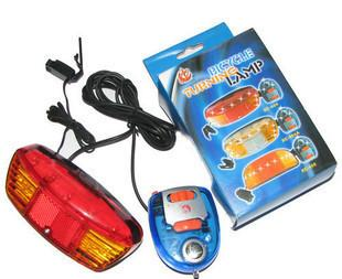 多功能自行车转向灯+单车尾灯+电喇叭+刹车灯 星程XICHENG正品;