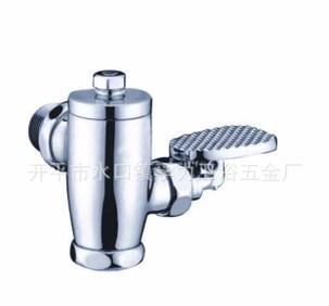 Kaiping прямых производителей полноценный все медные педаль в ванной, оборудование 880190 продувки клапан продувки клапан