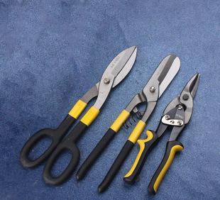 |厂家直销 航空剪美式铁皮德式白铁丝网剪切五金工具 铁皮剪;
