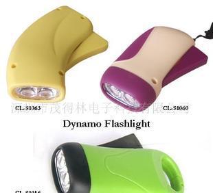 供应LED手电筒 手压电筒 无电源手电筒;