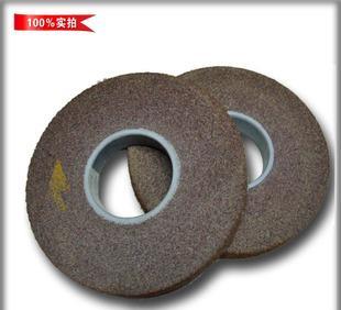 不锈钢尼龙抛光轮 海绵轮 规格8*1*3 纤维抛光轮 钢管研磨轮;