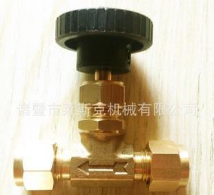 поставки высококачественных латунь игольчатый клапан игольчатый клапан судов, набор карт, труба, соединяющая игольчатый клапан, двойной карты игольчат
