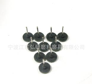 厂家批发 海绵芝麻磨头 平面T型 橡胶磨头 T25*3 芝麻轮;