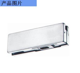 不锈钢玻璃下夹地弹簧门用玻璃固定夹适用于10-12mm厚玻璃