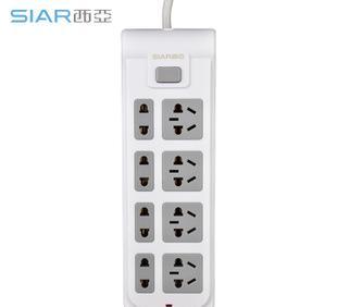 厂家批发新国标电脑插座 万用插线板 电源转换插座 插排带线 插座;