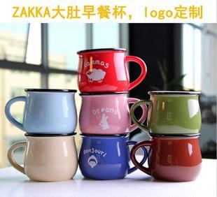 كرتون الحليب فطور تقليد المينا كأس كأس كأس القدح الإبداعية تاتو شعار مخصص